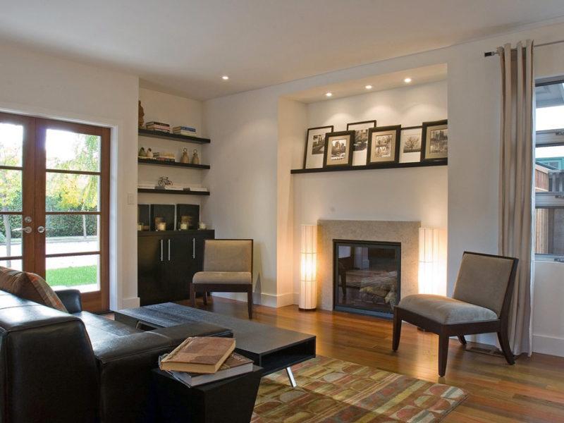 Palo Alto Contemporary - Living Room