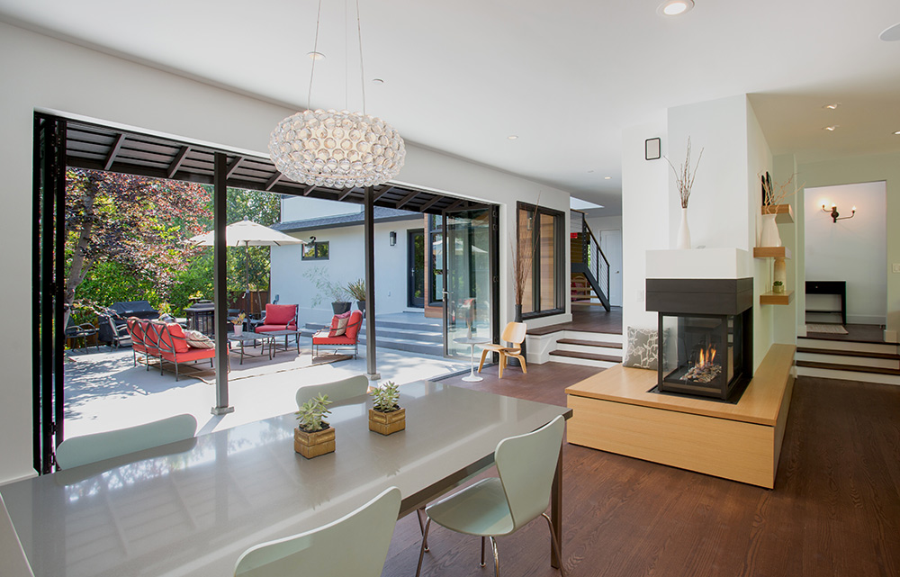 Palo Alto Mid-Century Living Space
