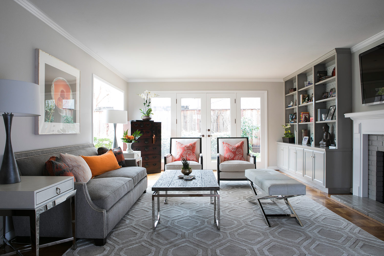 Palo Alto Stanley Way Living Room