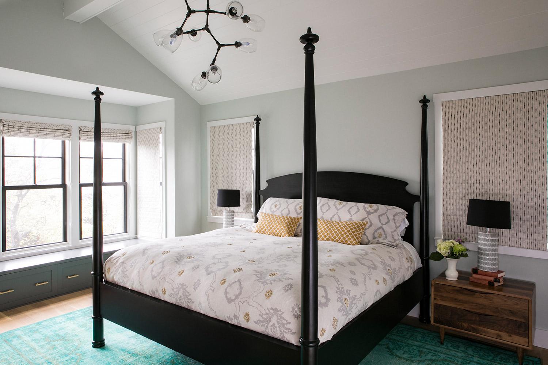 San Carlos Eclectic Master Bedroom